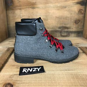 G.H. Bass & Co Aubrey Grey Lace Up Boots